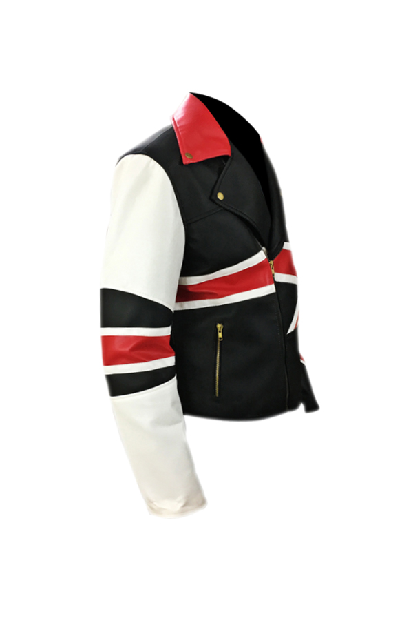 British Flag Leather Jacket