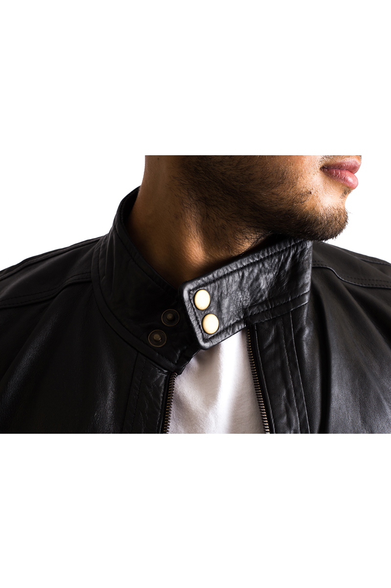 Mens Black Iconic Leather Jacket