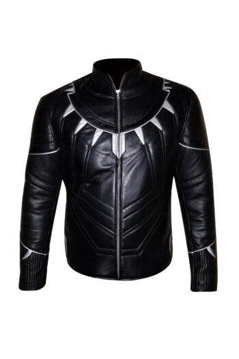 Mens Brando Black Leather Jacket