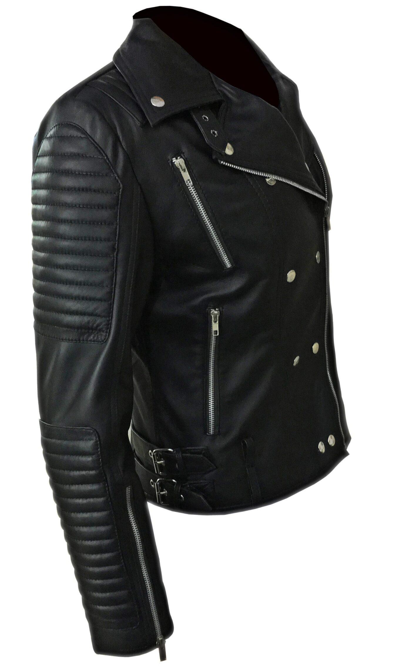 Kiki Black Leather Jacket