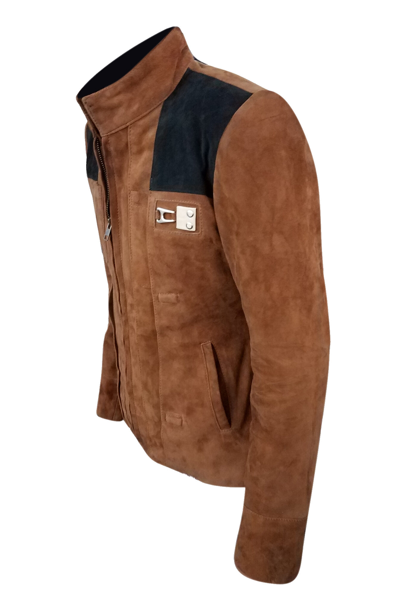 Suede Leather Han Solo Jacket
