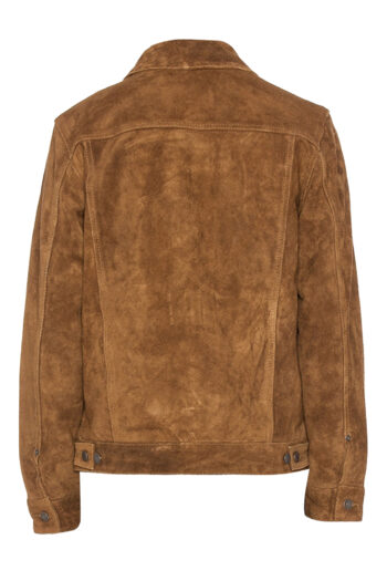 Mens-Brown-Suede-Leather-Jacket