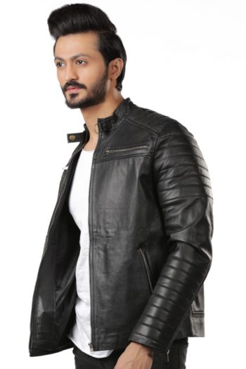 Aron Biker Leather Jacket