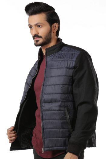 Mens Bomber Jacket Quilted Austria Jacket