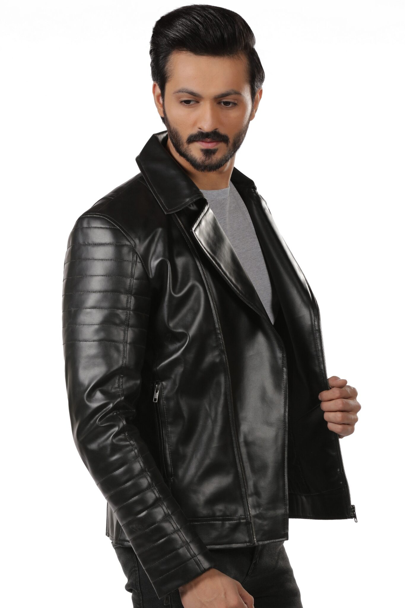 Premium Classic Leather Jacket