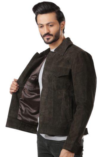 Zach Brown Suede Leather Jacket