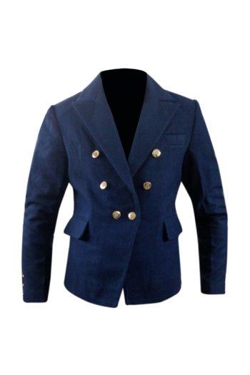 Women's Blazer Style Wool Coat