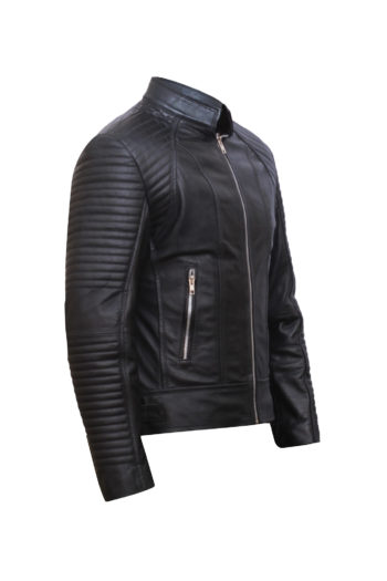 Black Leather Jacket Women – Motorbike Jacket Women – Leather Jackets for Women-2