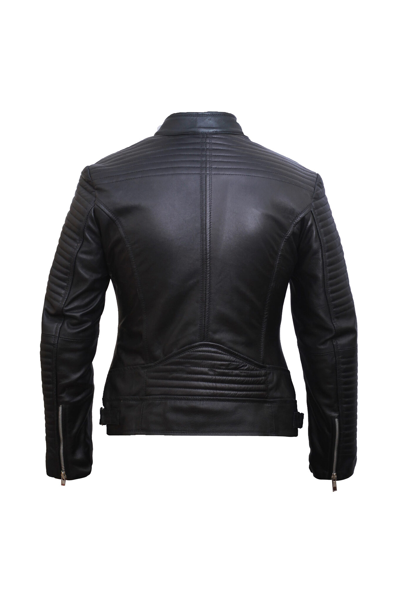 Black Leather Jacket Women – Motorbike Jacket Women – Leather Jackets for Women-3