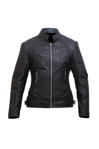 Black Leather Jacket Women – Motorbike Jacket Women – Leather Jackets for Women