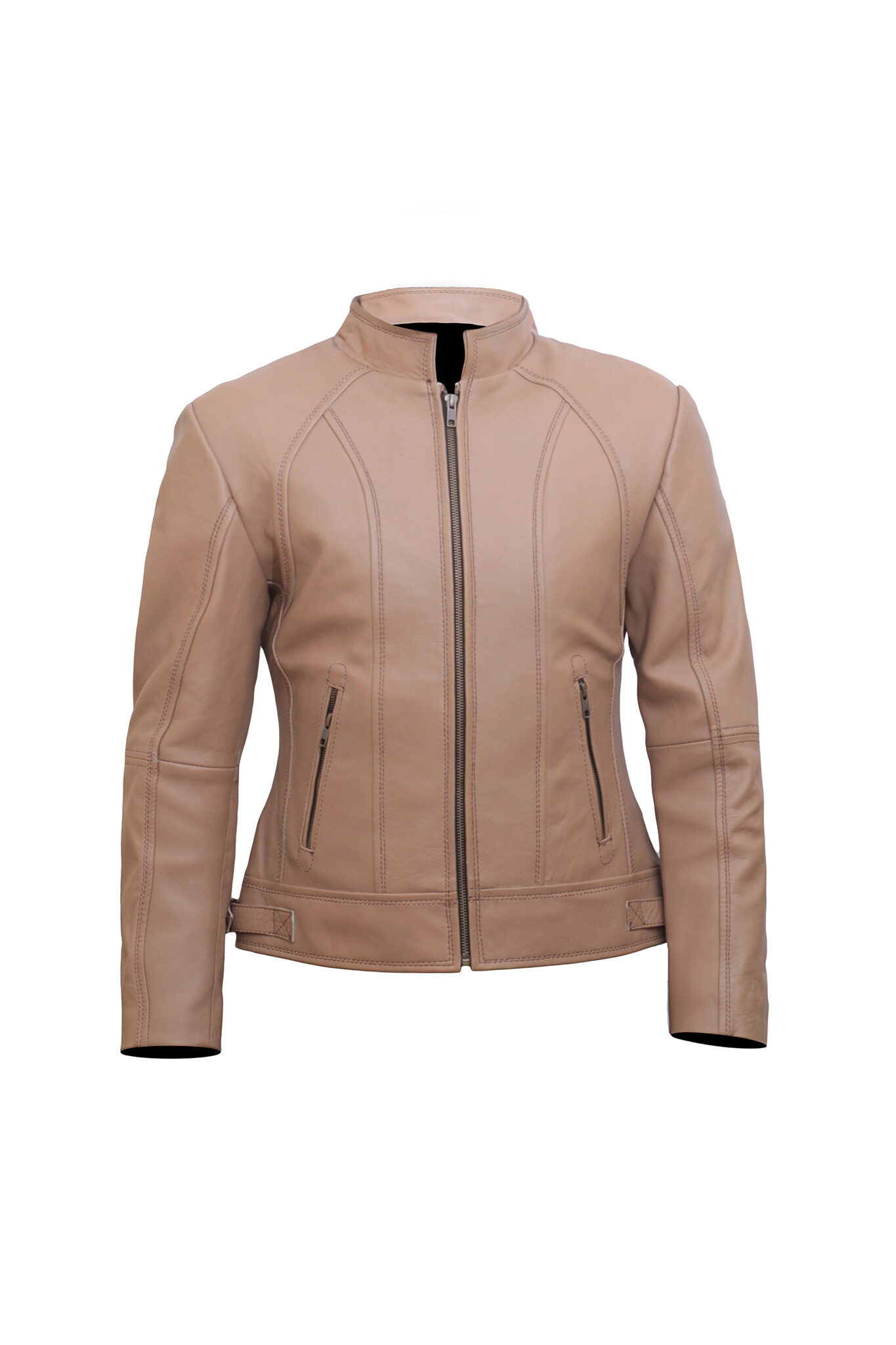 Brown Leather Jacket Women – Motorbike Jacket Women – Leather Jackets for Women
